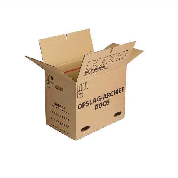 Verhuis- en archiefdozen