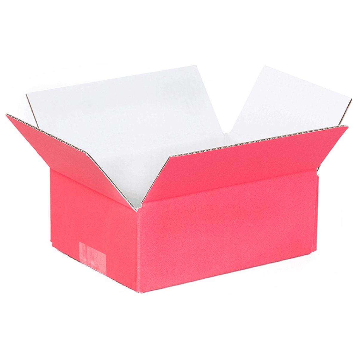 trendy doos rood buitenkant