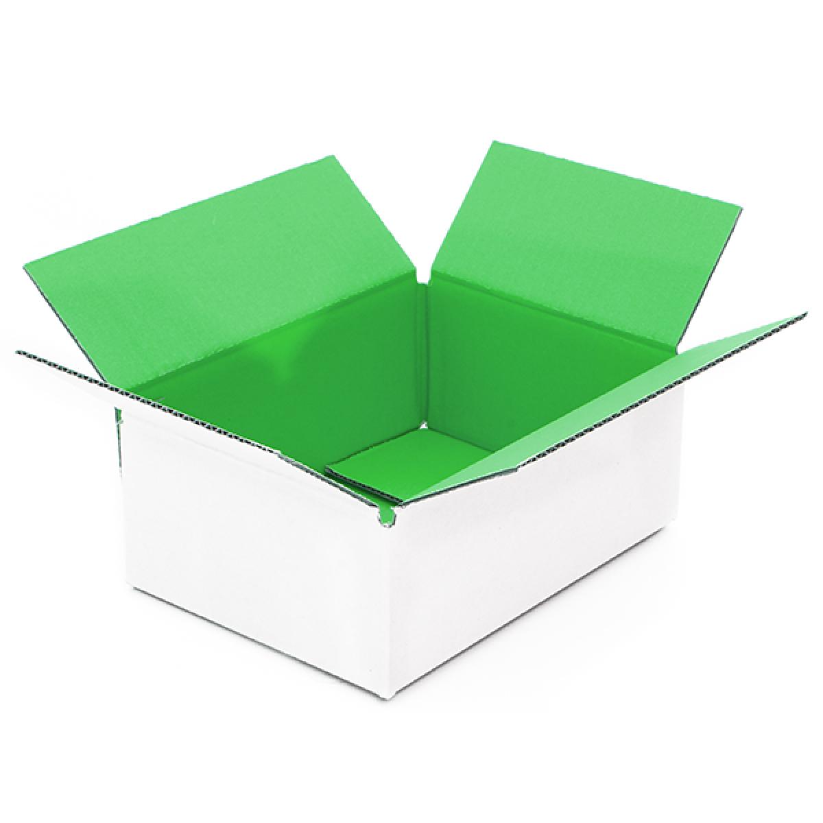 Groene doos binnen