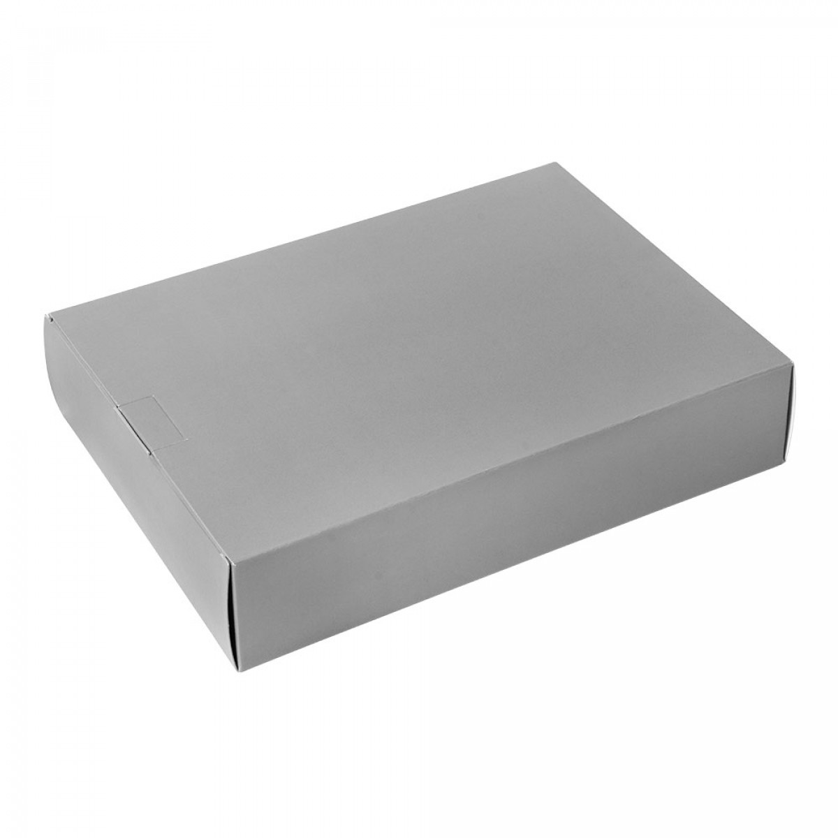 Packbox 420x305x90mm, Zilver
