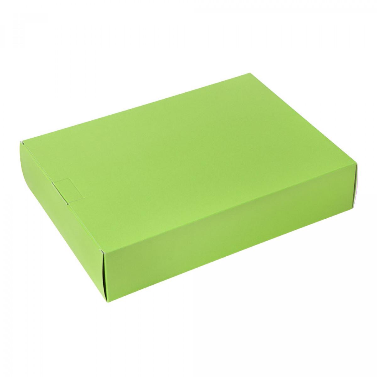 Packbox 420x305x90mm, Appelgroen