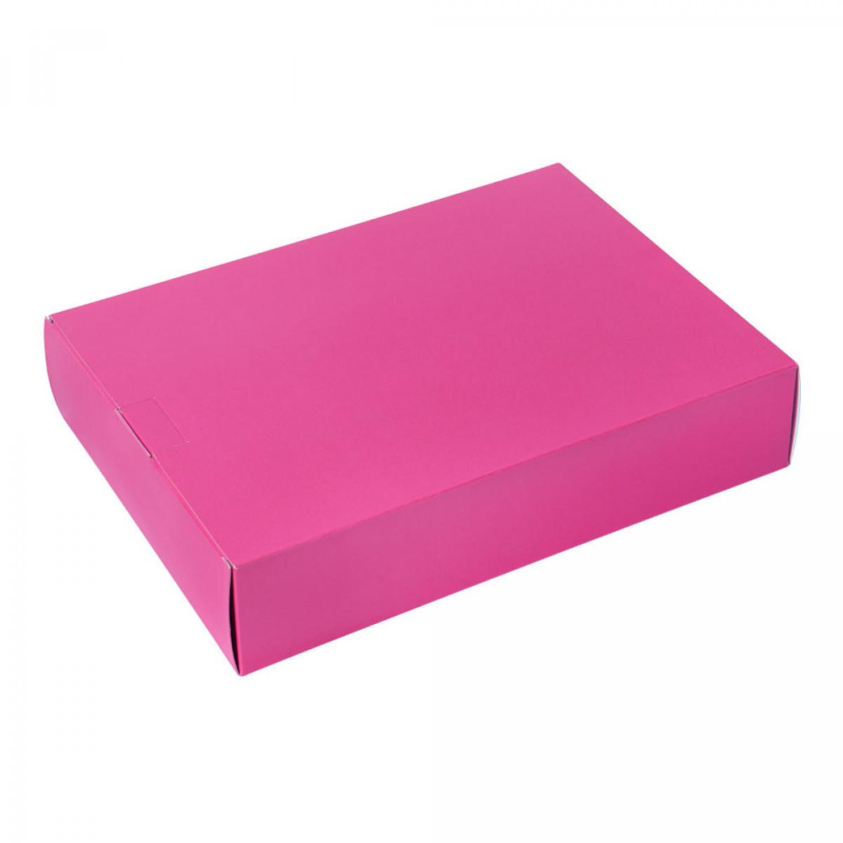 Packbox 420x305x90mm, Roze
