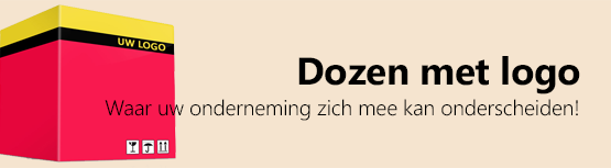 Dozen met logo