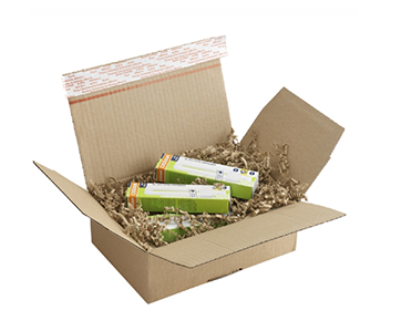 Online verpakkingsmateriaal