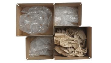 Verpakkingsmateriaal karton